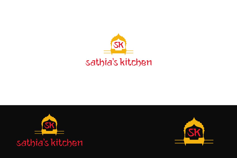 Bold, Feminine, Chef Logo Design for Sathia\'s Kitchen by ...
