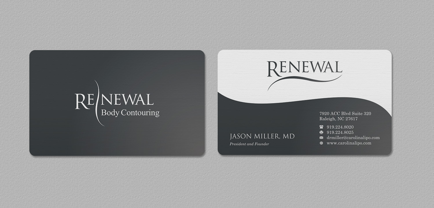 Elegant serious business business card design for renewal by business card design by indianashok for renewal design 17384120 reheart Gallery