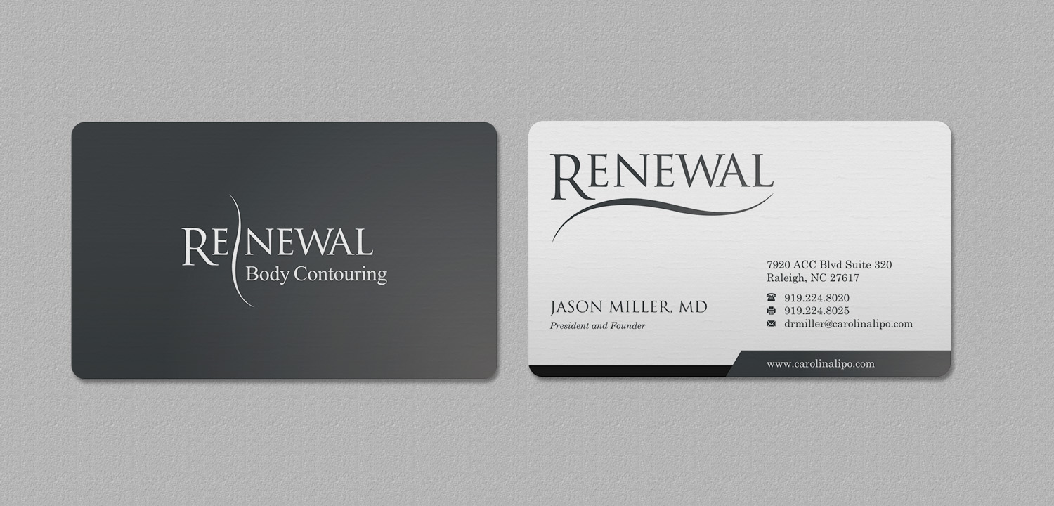 Elegant serious business business card design for renewal by business card design by indianashok for renewal design 17384124 reheart Choice Image