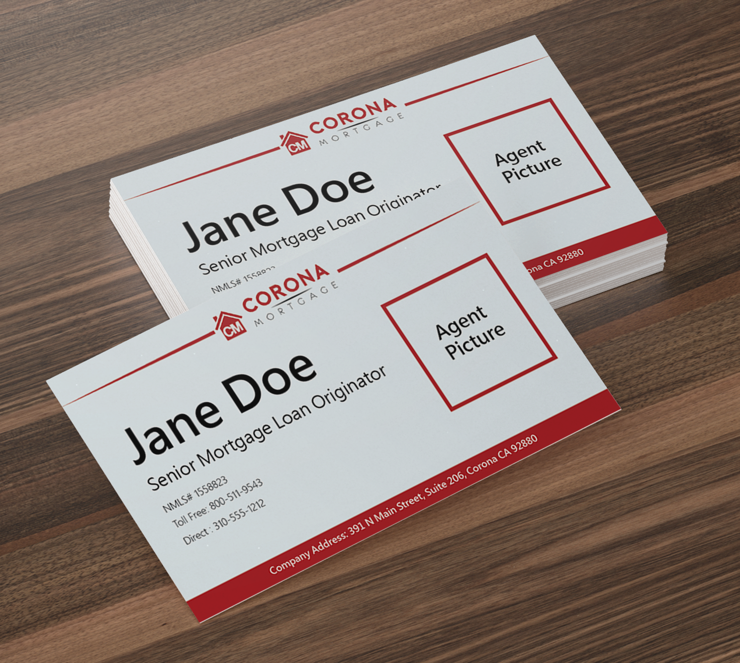Modern upmarket mortgage lender business card design for a company business card design by mark cheng for this project design 17321933 reheart Choice Image
