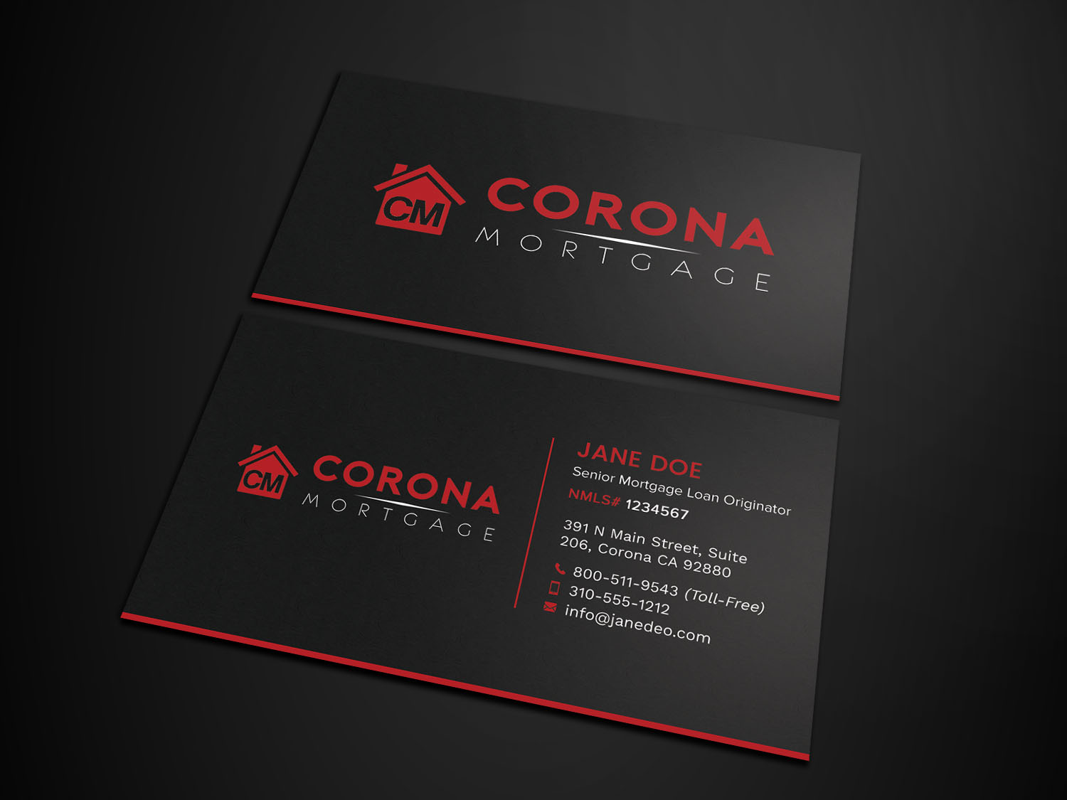 Modern upmarket mortgage lender business card design for a company business card design by avanger000 for this project design 17319972 reheart Choice Image