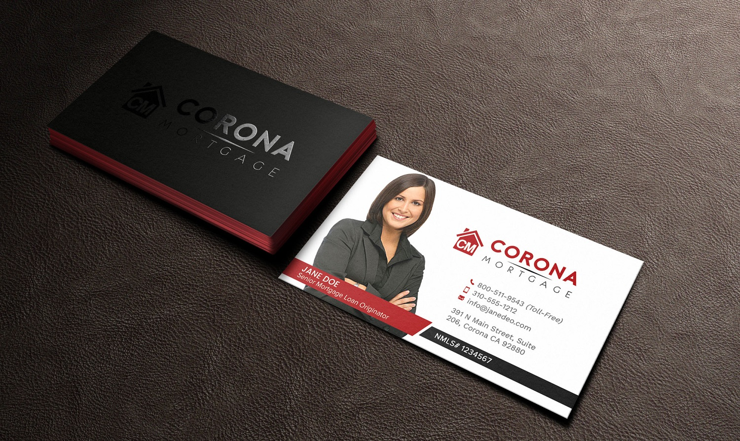 Modern upmarket mortgage lender business card design for a company business card design by avanger000 for this project design 17319990 reheart Choice Image