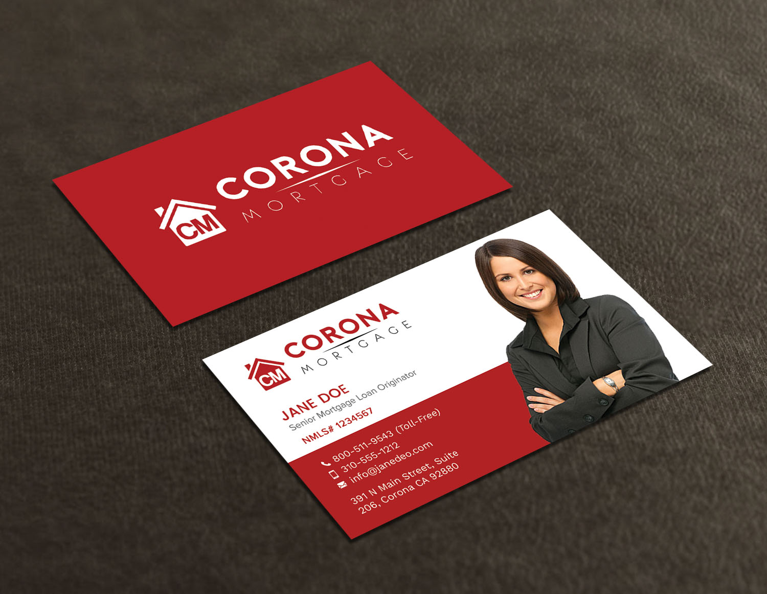 Modern upmarket mortgage lender business card design for a company business card design by avanger000 for this project design 17320418 reheart Choice Image