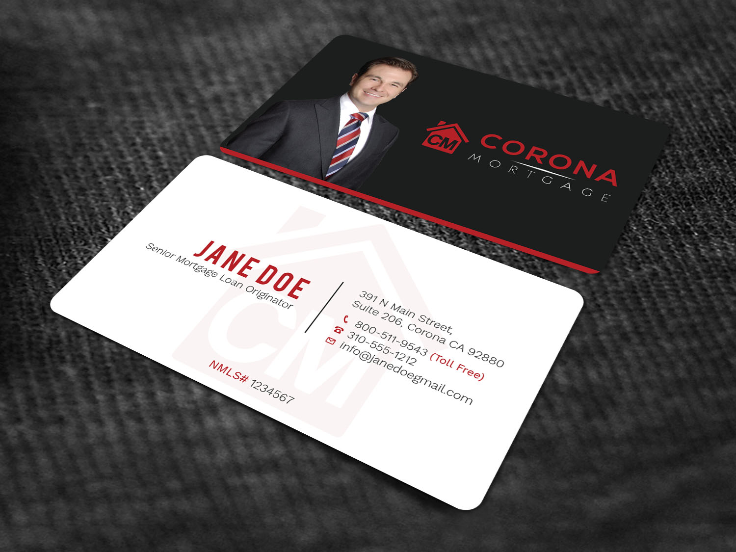 Modern upmarket mortgage lender business card design for a company business card design by avanger000 for this project design 17320599 reheart Choice Image