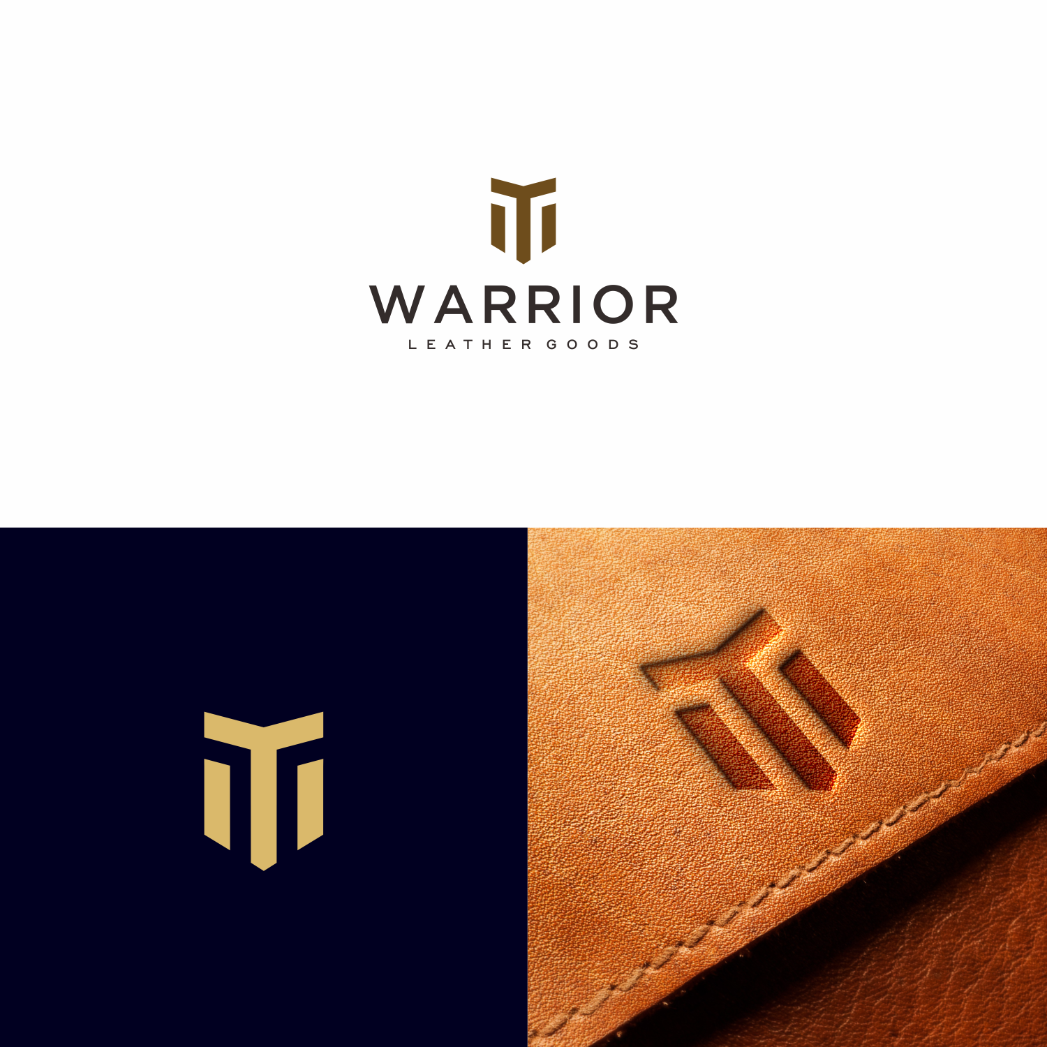 bold playful logo design for warrior leather goods by nerodesign design 17417334 logo design for warrior leather goods