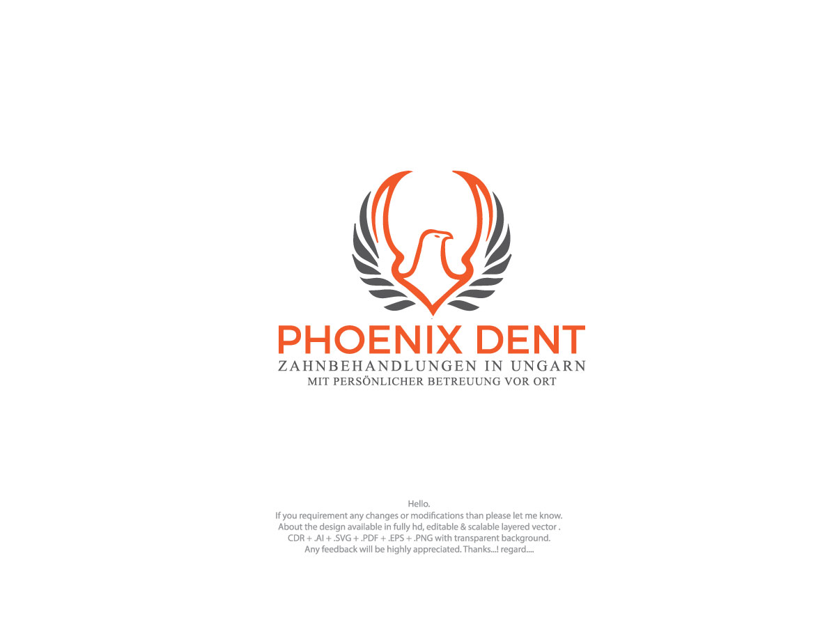 Logo Design By Robin Freelancer For Phoenix Dent