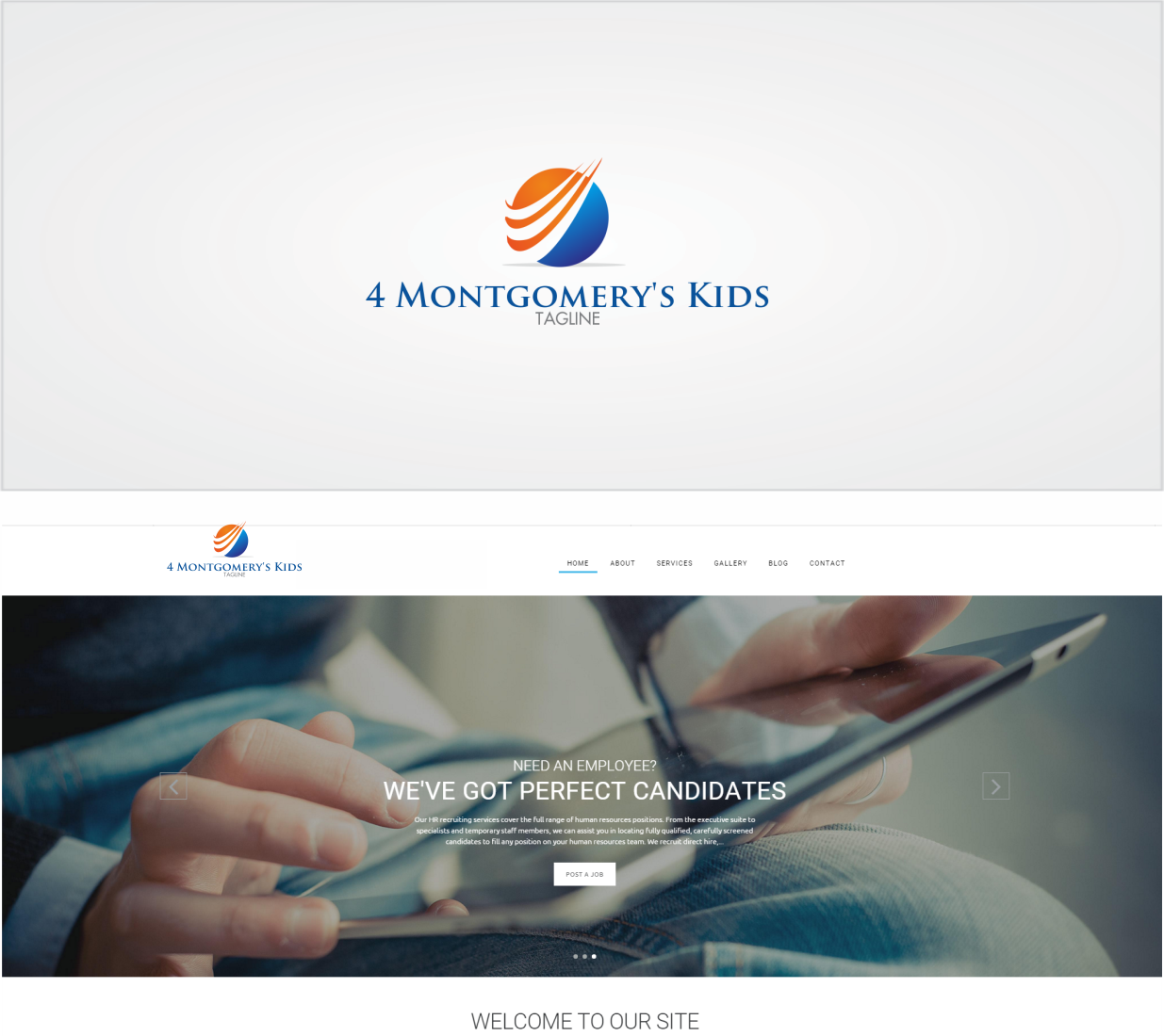 Bold, Serious Logo Design for 4 Montgomery\'s Kids by Toto luap ...