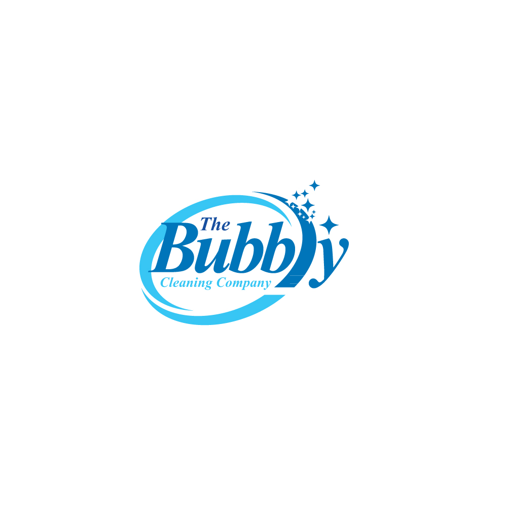 Bubbly Design Co: Modern, Professional, Cleaning Service Logo Design For The