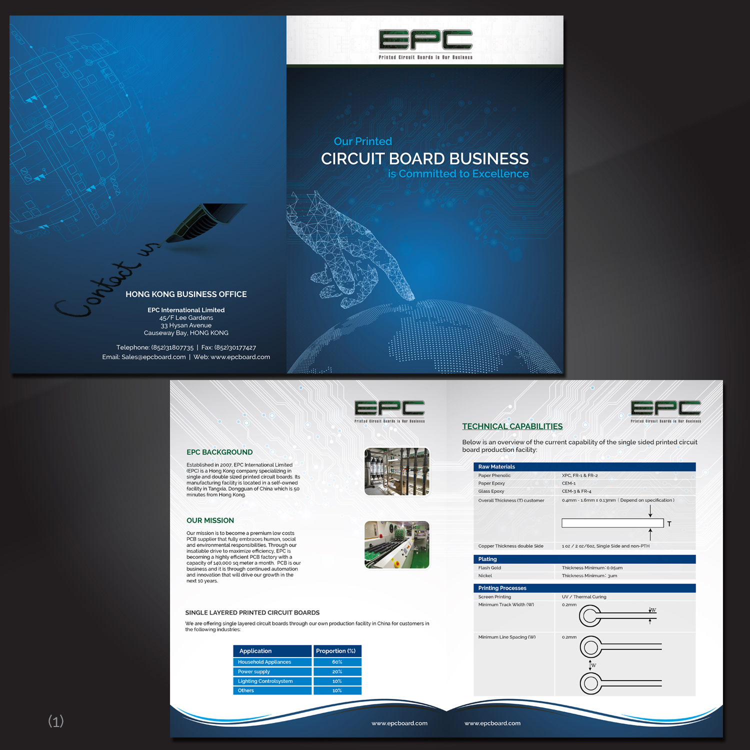 Elegant Modern Electronics Flyer Design For A Company By Electronic Circuit In Hong Kong 17474991