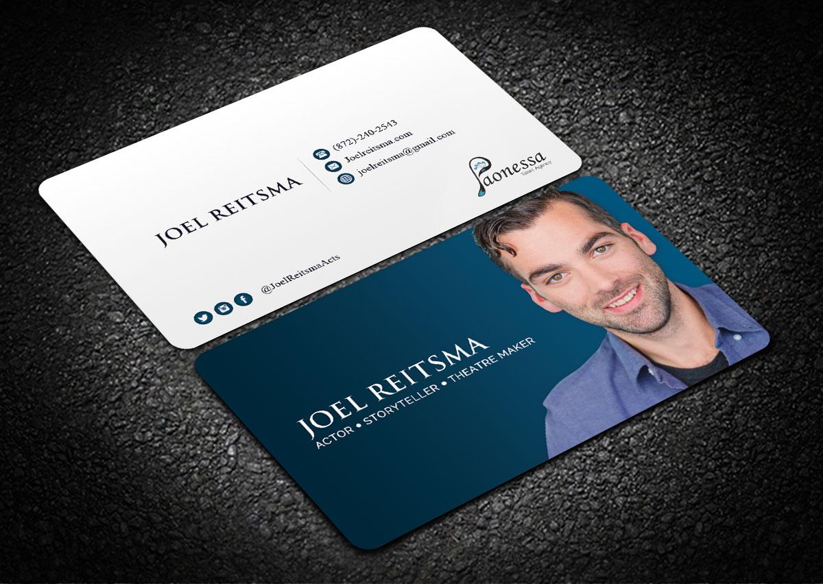 Bold, Serious Business Card Design for Joel Reitsma by Sandaruwan ...