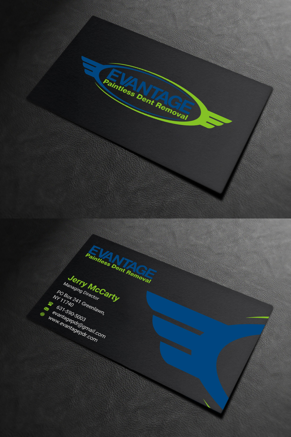 Bold, Modern, Auto Repair Business Card Design for a Company by ...