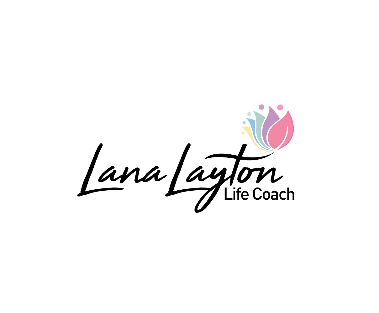 conservative serious life coaching logo design for lana
