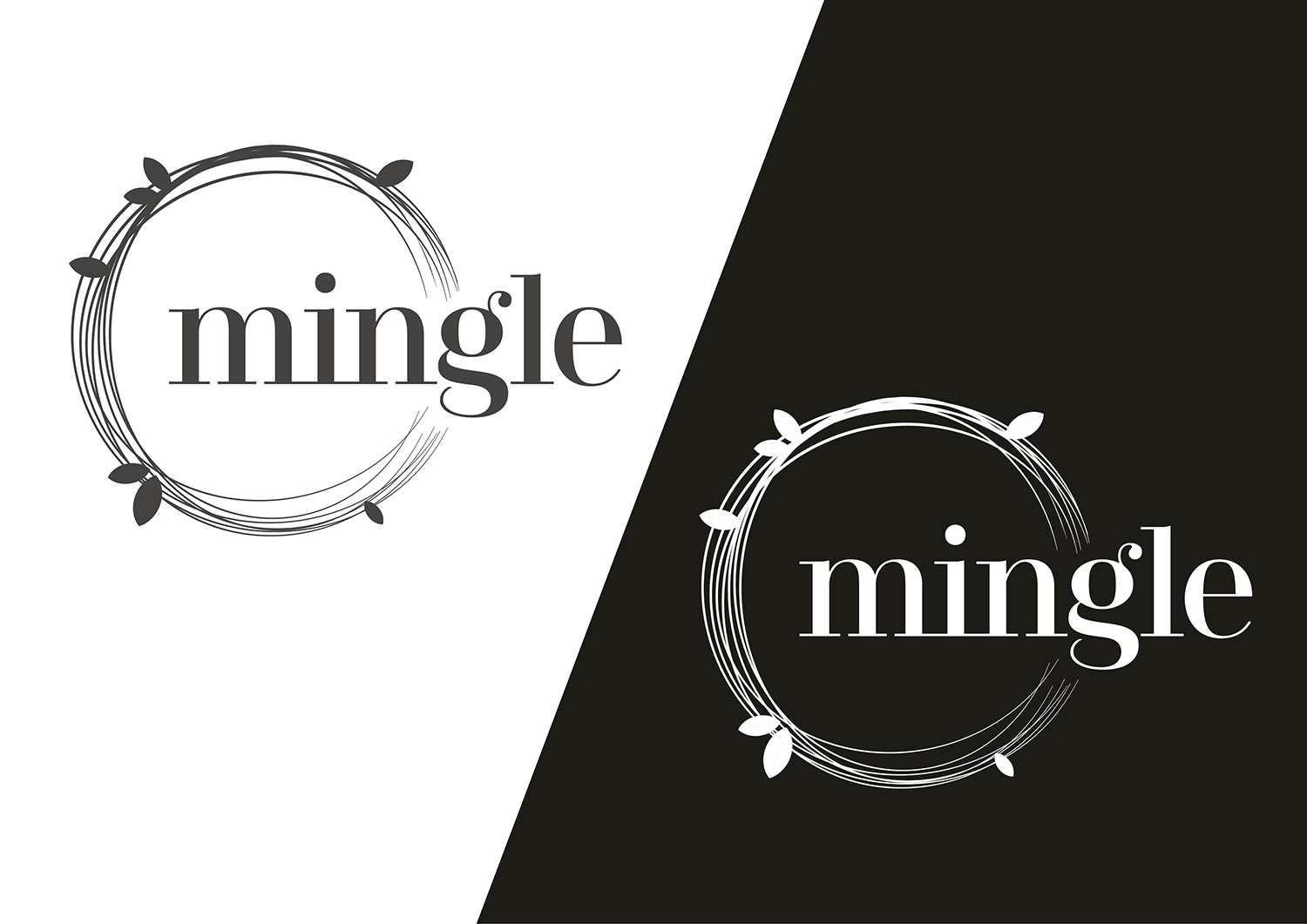 Playful, Modern, Interior Logo Design for mingle by Channel Studio ...
