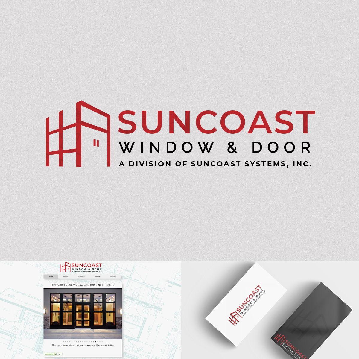 Modern Bold Construction Company Logo Design For Suncoast