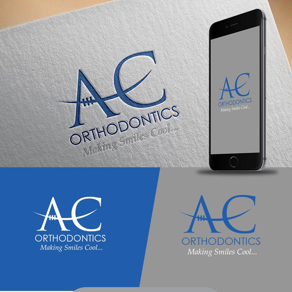 Modern, Upmarket, Dental Logo Design for AC Orthodontics. Making ...