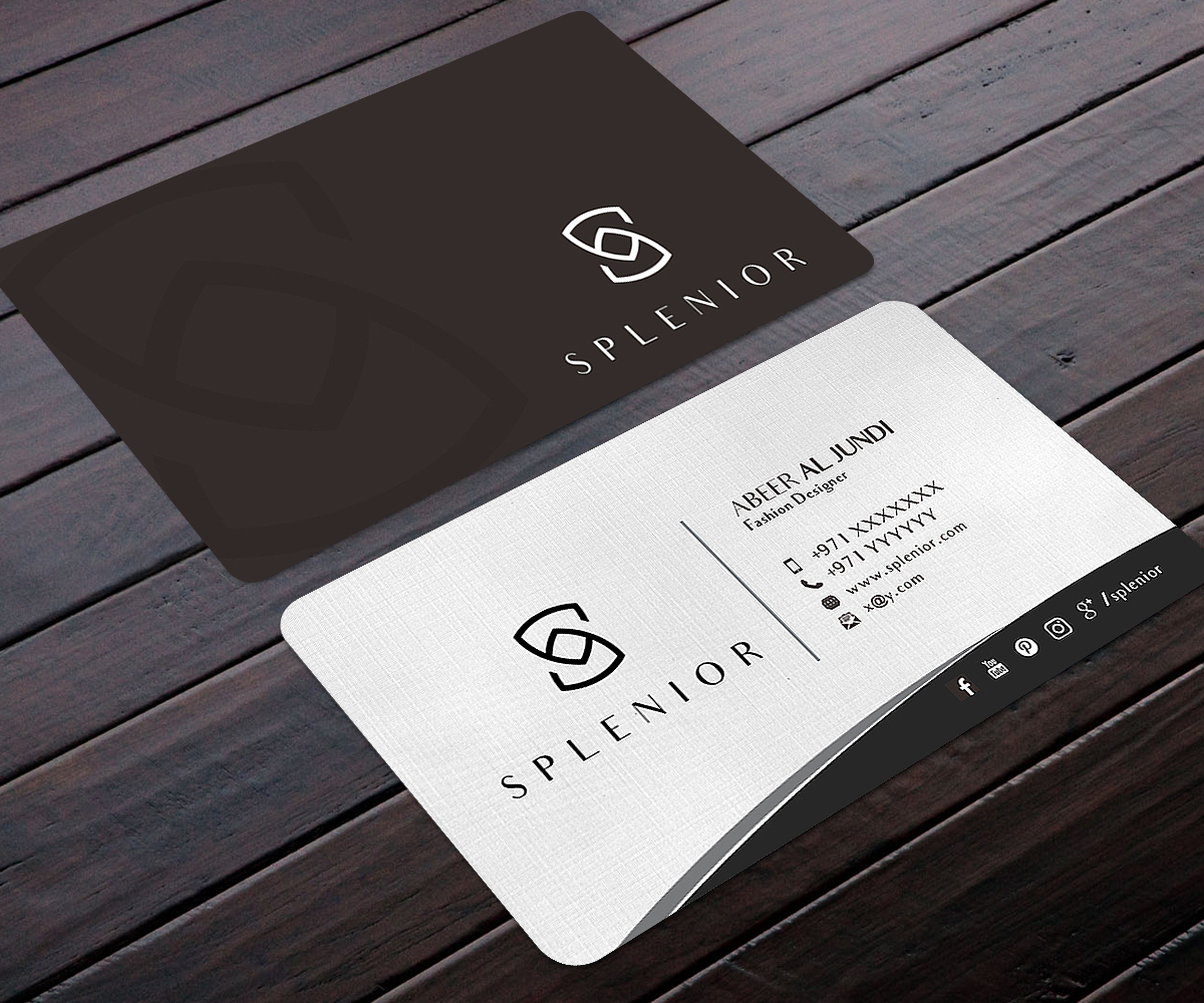 Modern Feminine Fashion Business Card Design For A Company By Designers Hub Design 17432666