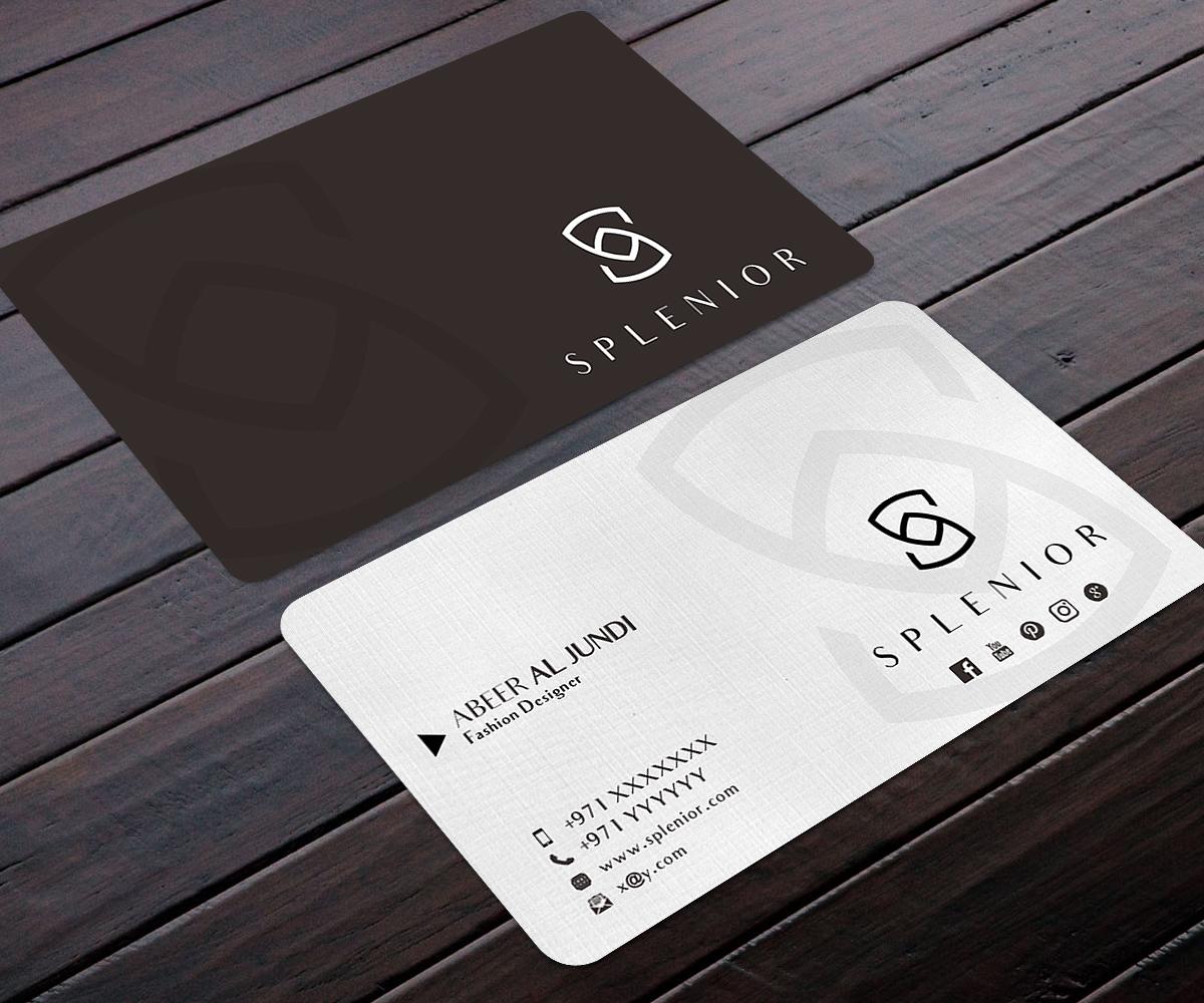 Modern, Feminine, Fashion Business Card Design for a Company by ...