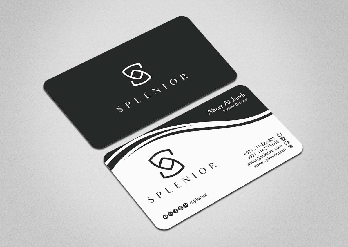 Business Card Design By INDIAN Ashok For This Project