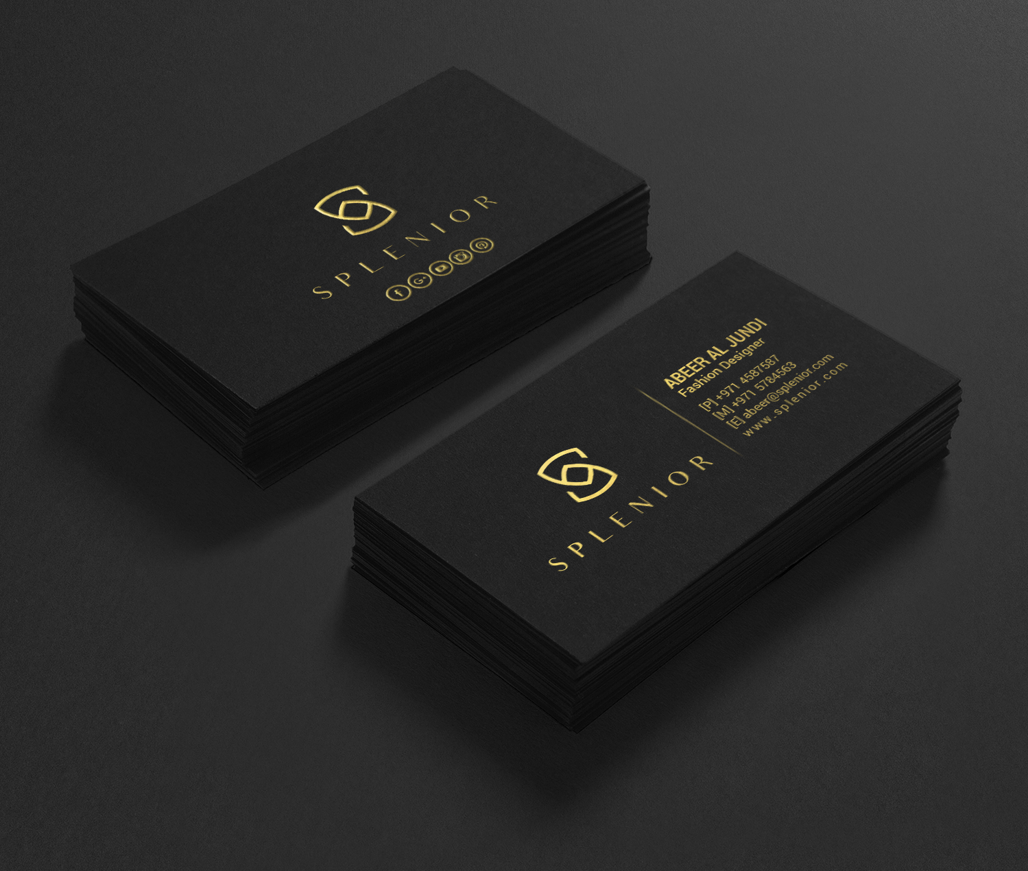 Modern feminine fashion business card design for a company by business card design by chandrayaaneative for this project design 17588303 colourmoves