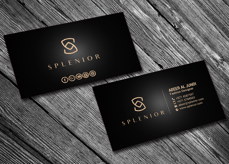 Modern Feminine Fashion Business Card Design For A Company By Chandrayaan Creative Design 17588386