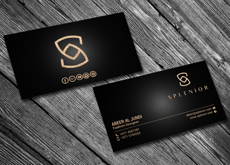 Modern Feminine Fashion Business Card Design For A Company By Chandrayaan Creative Design 17588388