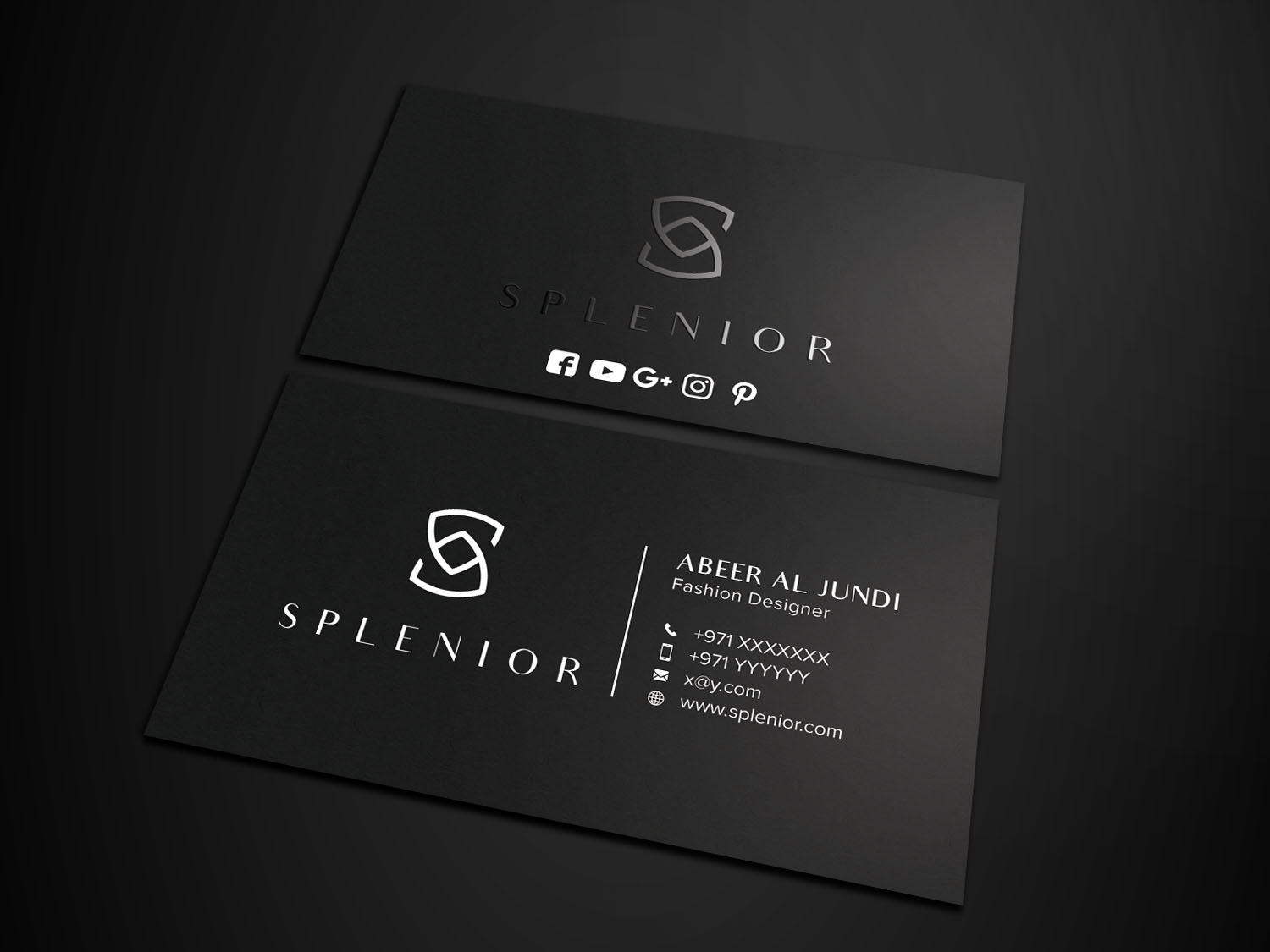 Modern Feminine Fashion Business Card Design For A Company By Avanger 000 Design 17428305