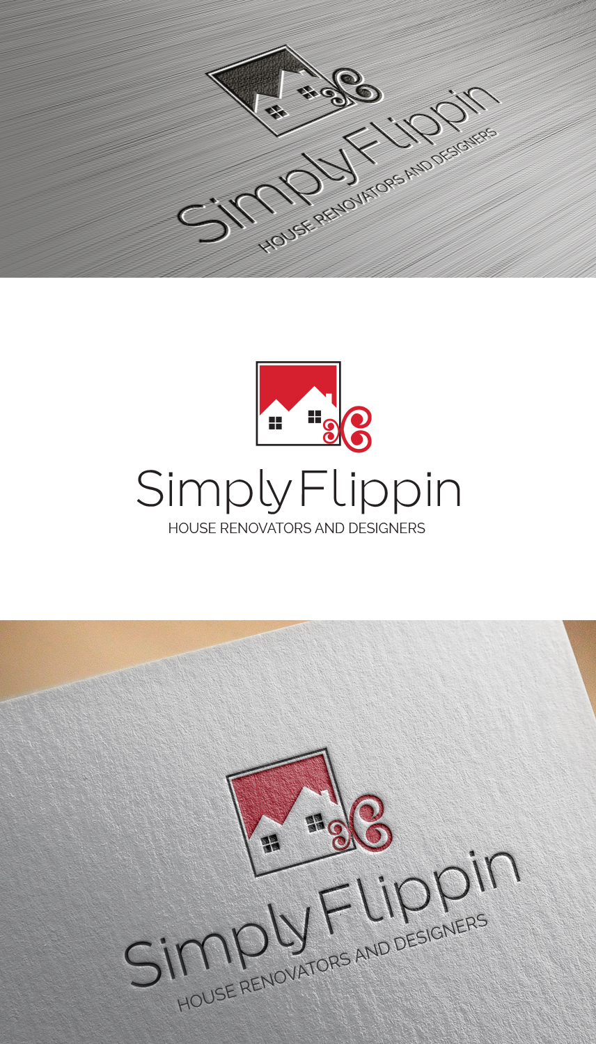 Business logo design for simply flippin by uk design 17453544 business logo design for samu studios inc in united states design 17453544 reheart Choice Image