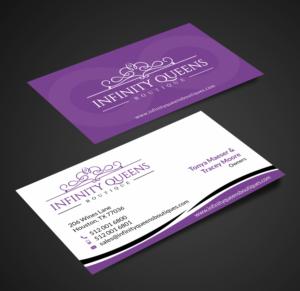 Design De Carte Visite Par SKYdesign Pour Infinity Queens Boutique