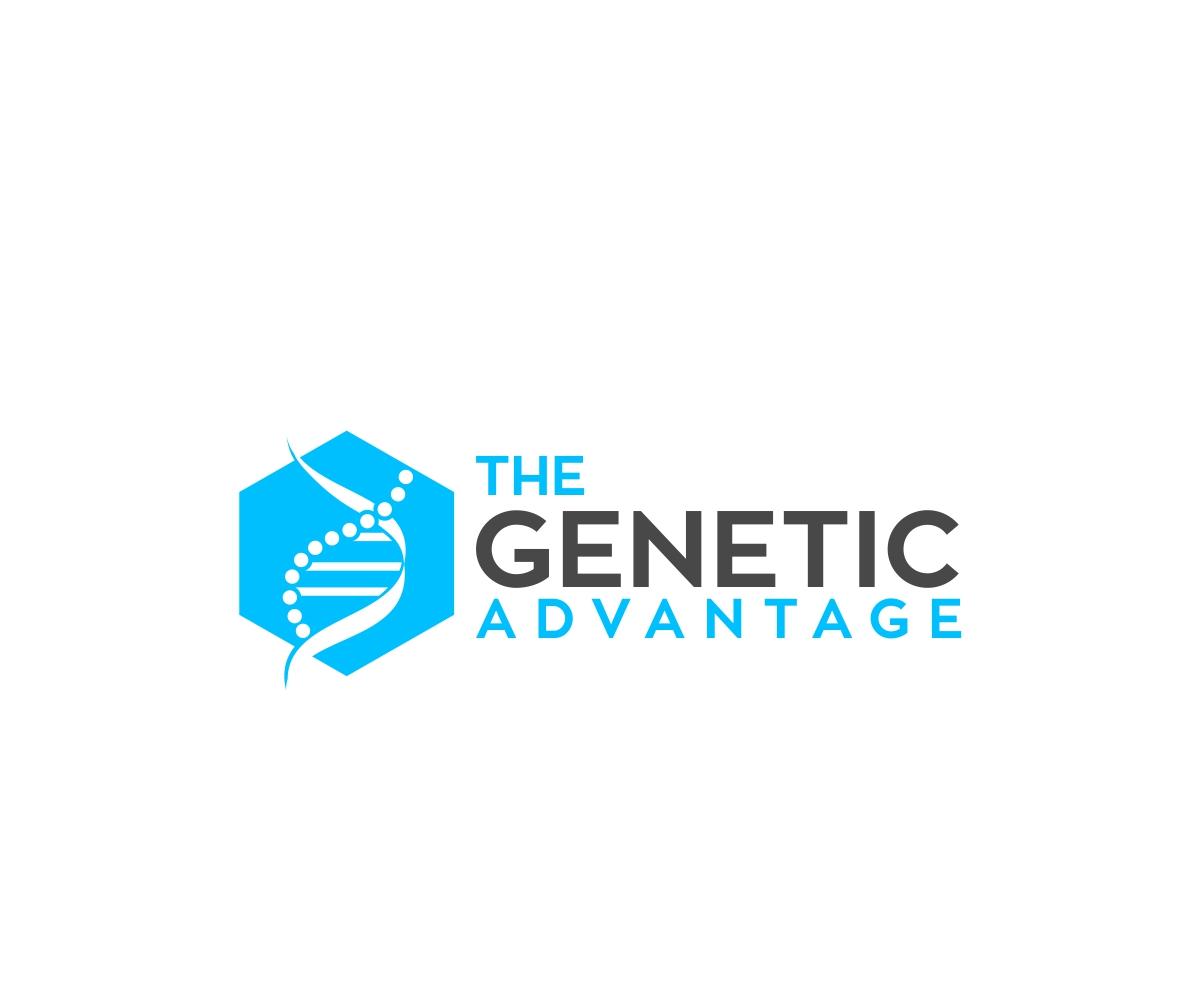 modern serious health and wellness logo design for the genetic rh designcrowd com sg