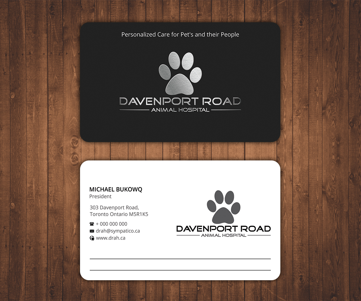 Professional, Upmarket, Business Business Card Design for Davenport ...