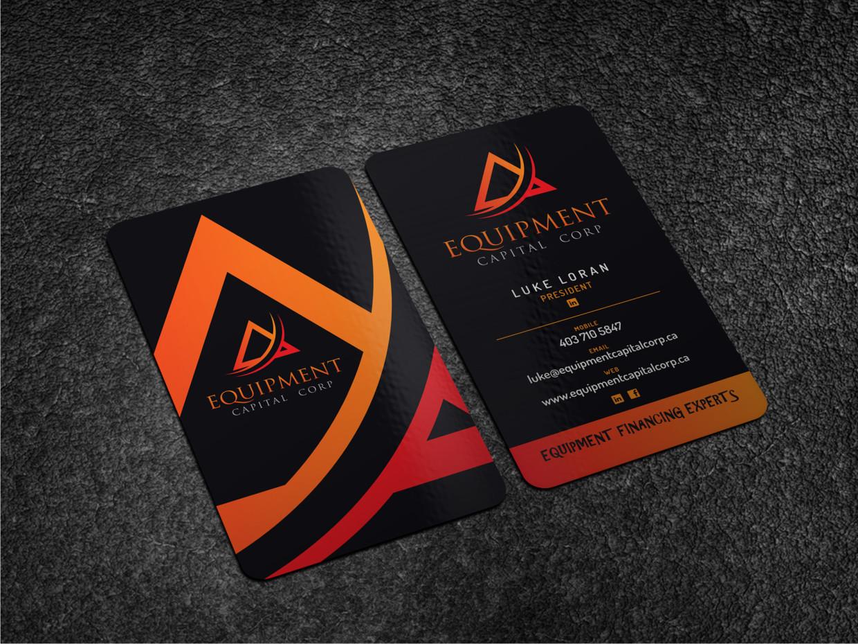 Equipment Capital Corp - Business Card Design | 47 Business Card