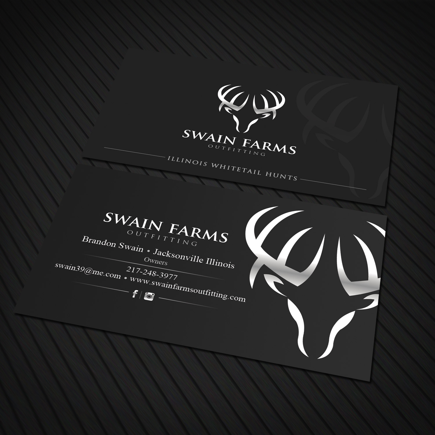 Modern professional hunting business card design for a company by business card design by sandaruwan for this project design 17464047 reheart Choice Image