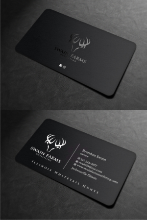 Hunting business card design galleries for inspiration illinois hunting business needing business cards business card design by atvento graphics colourmoves