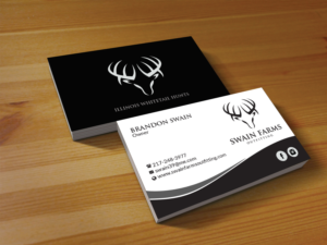 155 modern business card designs hunting business card design business card design by creations box 2015 for this project design 17469952 colourmoves