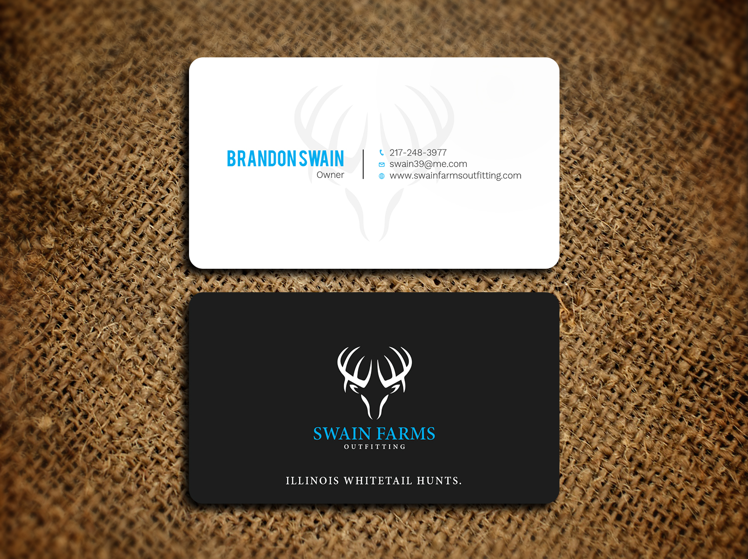 Modern professional hunting business card design for a company by business card design by avanger000 for this project design 17461157 colourmoves