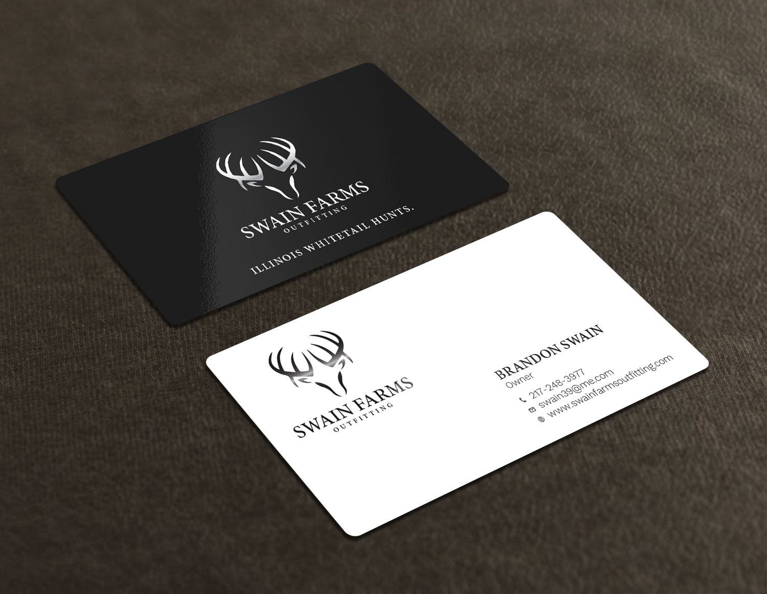 Modern professional hunting business card design for a company by business card design by avanger000 for this project design 17461174 colourmoves