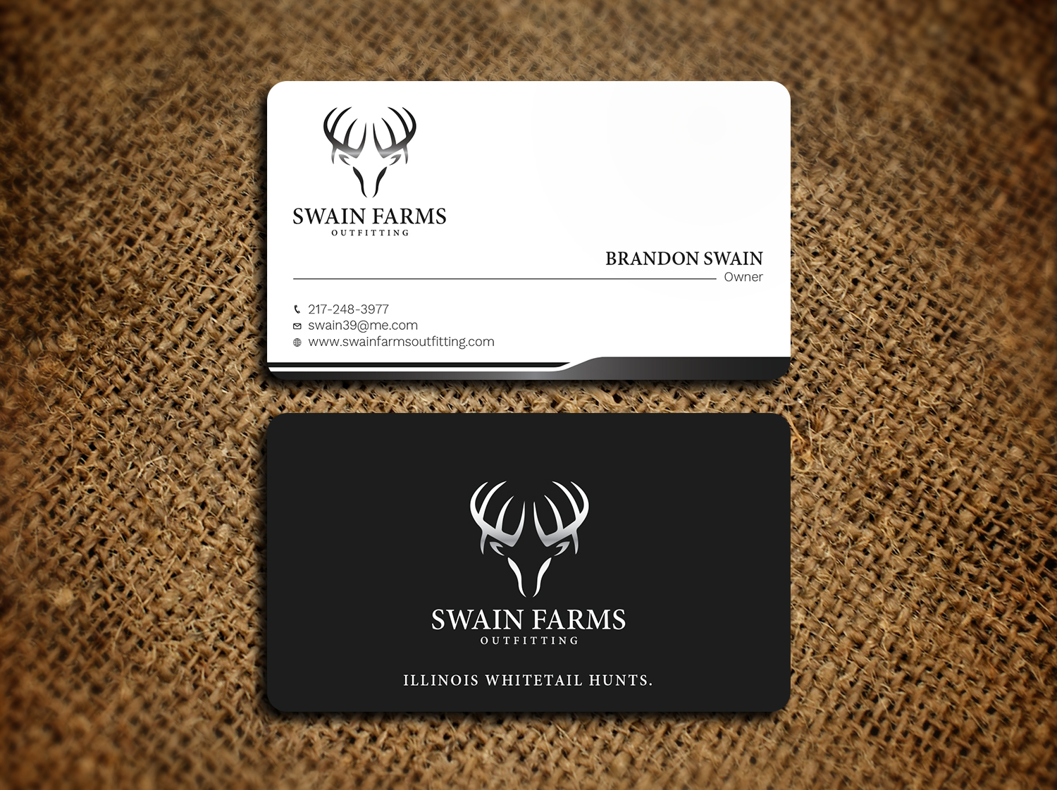 Modern professional hunting business card design for a company by business card design by avanger000 for this project design 17461187 colourmoves