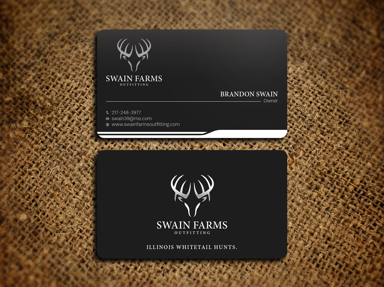 Modern professional hunting business card design for a company by business card design by avanger000 for this project design 17461189 colourmoves