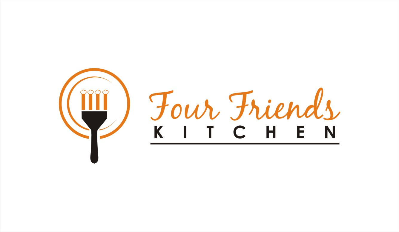 kitchen design company names restaurant logo design for four friends kitchen if name 246