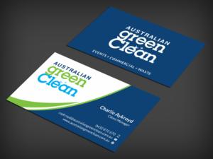 Waste management business card design galleries for inspiration australian green clean business card business card design by skydesign reheart Images