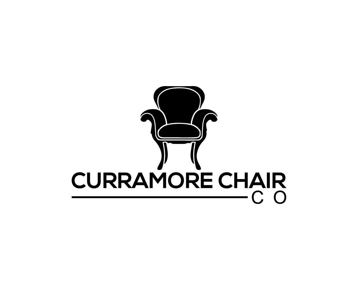 upmarket  modern  home furniture logo design for curramore chair co    please use compny if it
