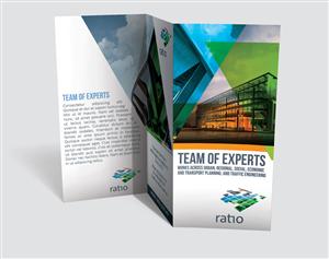 Brochure Design by JCR - Ratio company profile brochure