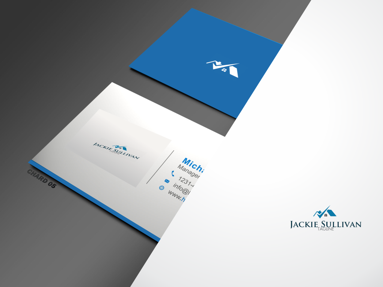 Conservative, Upmarket, Realtor Logo Design for Jackie Sullivan or ...