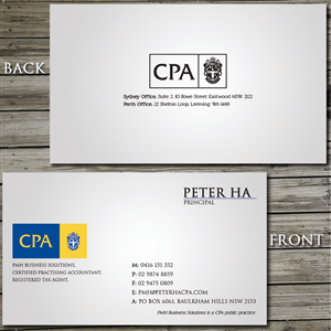 Business Card Design By Junaid Ahmad For This Project 2761934