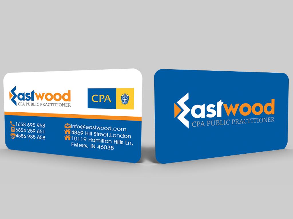 business card design for peter hahardcore design  design #2737075