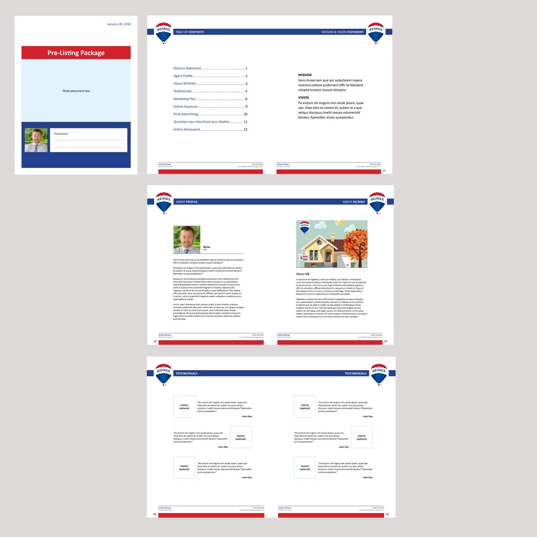 37 Profesional Diseños de Plantilla de Word | Real Estate Agent ...