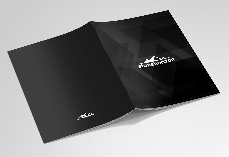 Upmarket Property Development Brochures : Upmarket modern real estate development brochure design