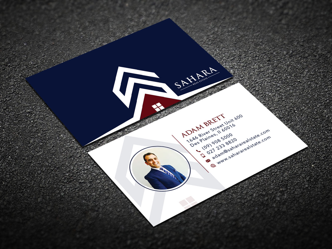 Professional, Modern, Real Estate Business Card Design for a Company ...