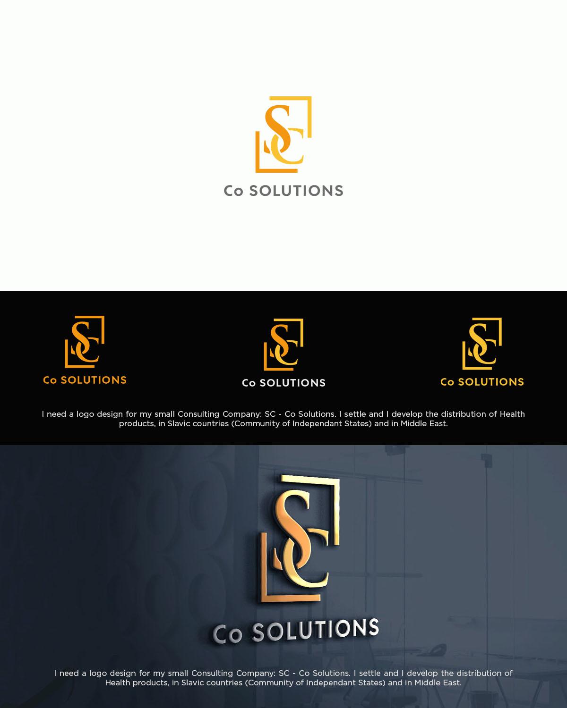Business Logo Design Fur Sc Co Solutions Sc For Stephane