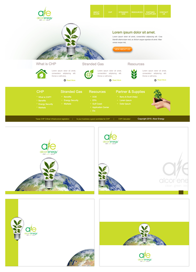 Affordable Construction Company Web Design 46877